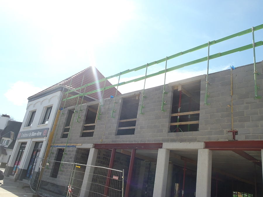 Immeuble à appartements à Perwez