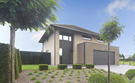 Maison clé sur porte à Anvers (2000)