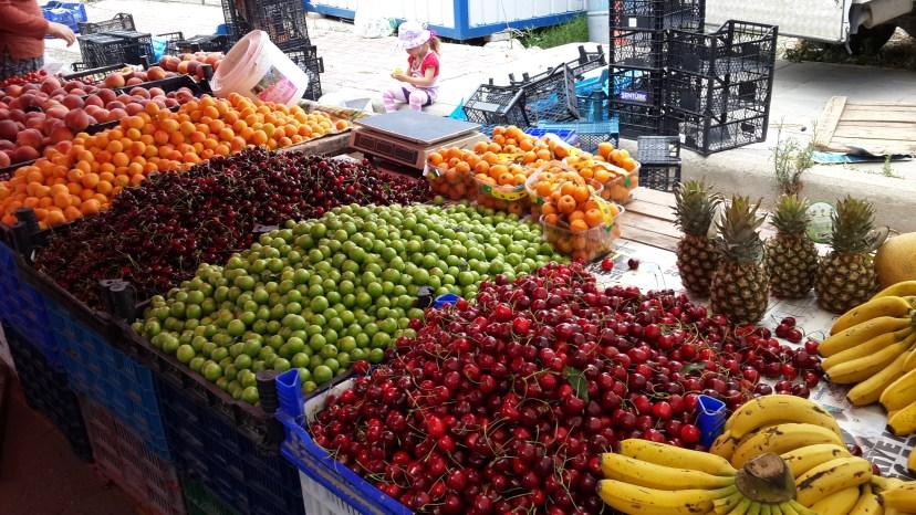 Marché bazar à Belek