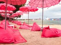 Pink Bali Lounge