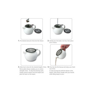 Wholelfea Teapot use instructions