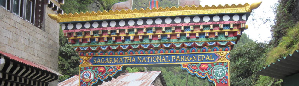 Sagarmatha National Park Entry