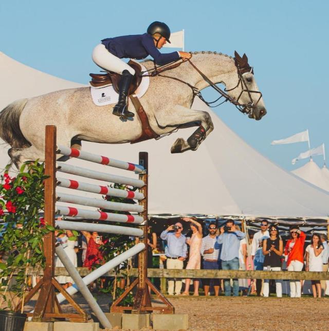 Germaine jumping