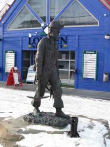 Coal Miner Statue