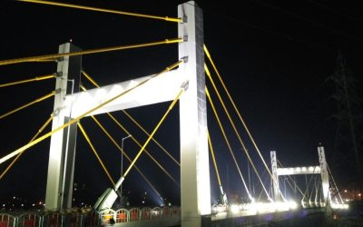 Cable Stay Bridge at Bhopal