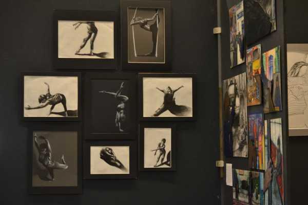 Student Artists Showcase Portfolios In Annual Art