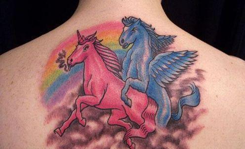 Rainbow Brite Tattoo Designs