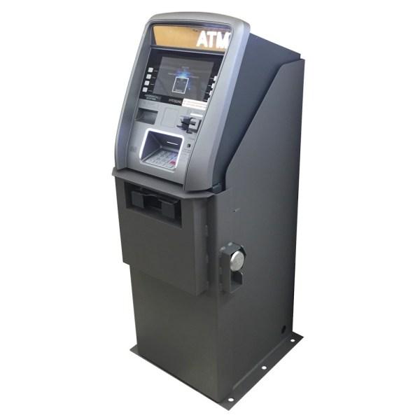 Indoor Slim ATM Vault Surround Back Graphic Panel