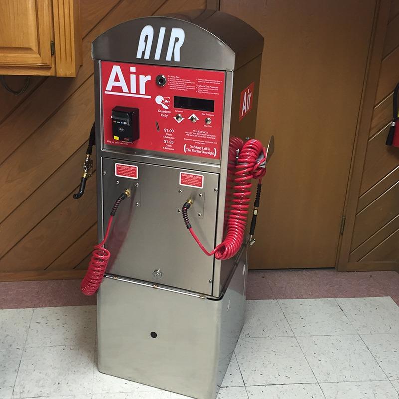 coin operated air machine