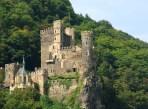 Medieval castle ruins