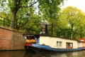 Canal house boat