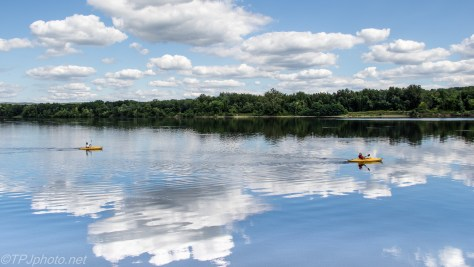 Kayaks On Connecticut River - Click To Enlarge