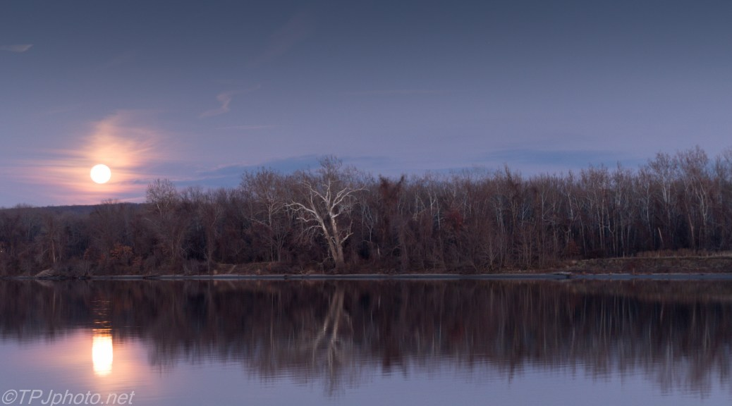 Connecticut River Moon - Click To Enlarge