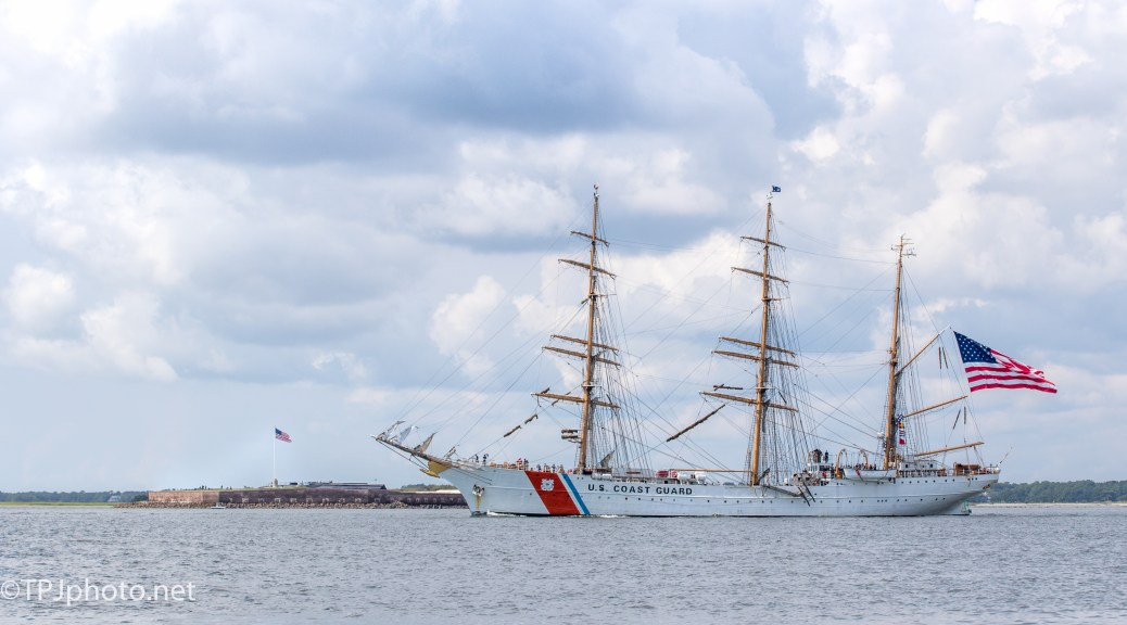 US Coast Guard Barque Eagle - Click To Enlarge