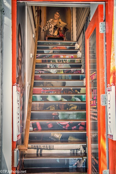 Stairs, Unlike Any You Have - Click To Enlarge
