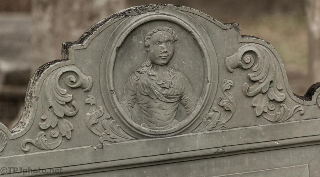 New England Headstone, South Carolina - click to enlarge
