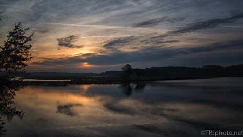 Mary's Pond Sunrise - click to enlarge
