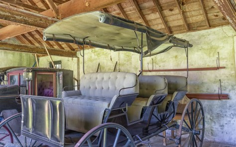 Carriage House, Old Carriages - click to enlarge