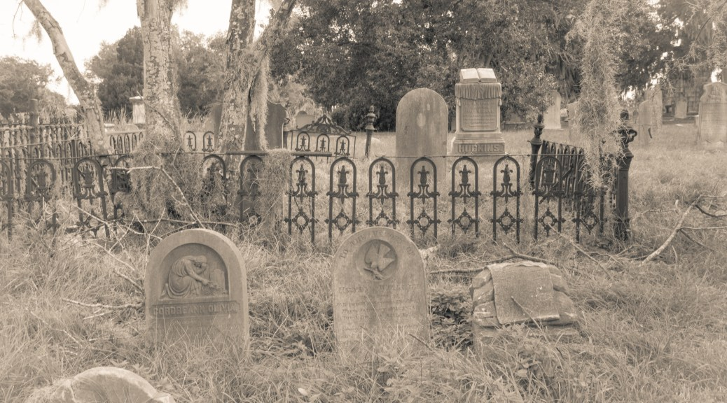 Sepia Cemetery - click to enlarge
