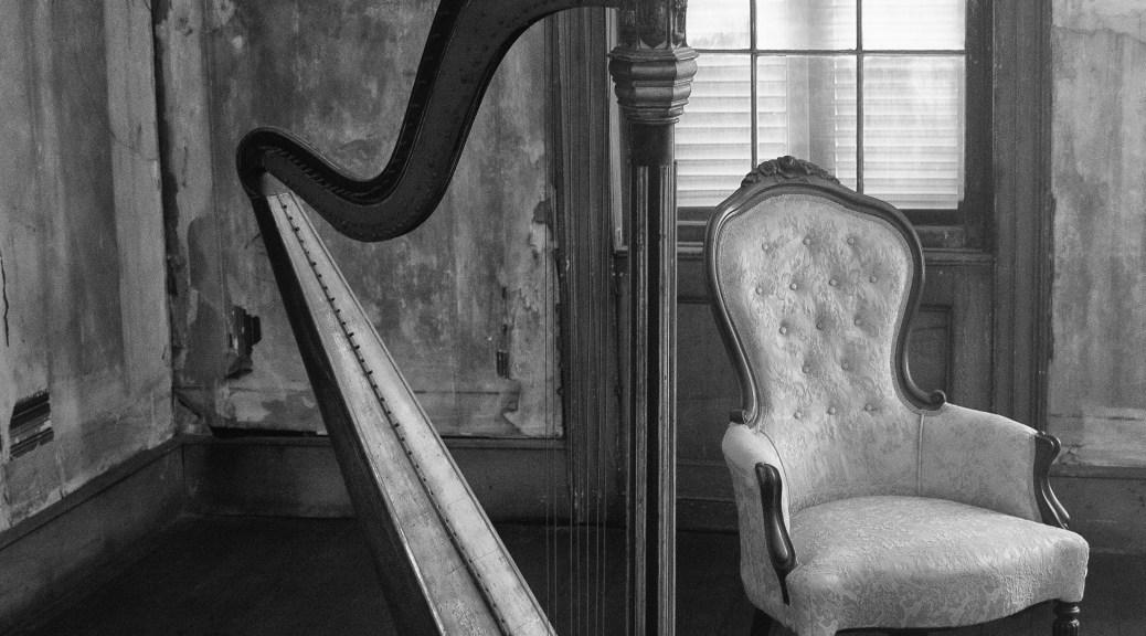 A Sitting Room In B&W