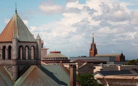 Charleston, Roof Top View