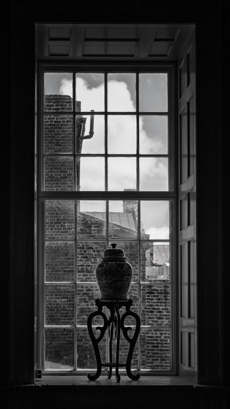 Staircase Window, Charleston, South Carolina