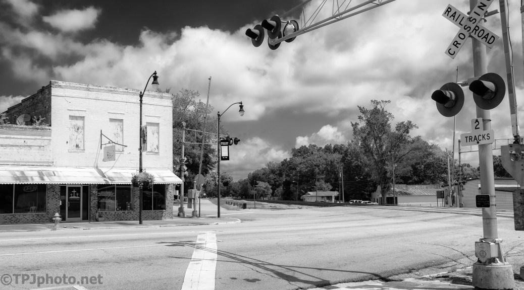 Main Street Always Has A Railroad Track