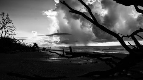Sunrise And A Coastal Storm