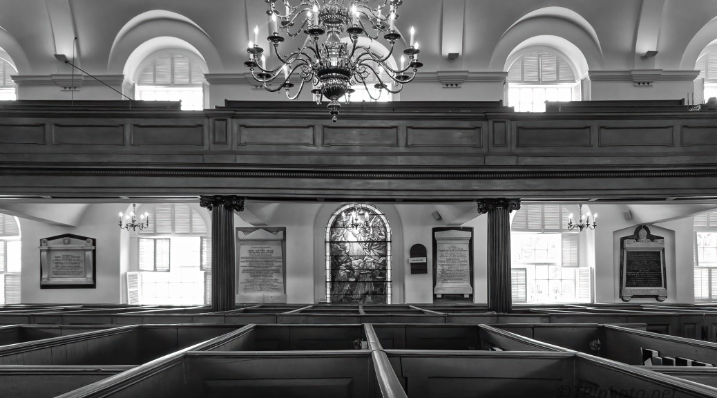 Historical St. Micheals In B&W