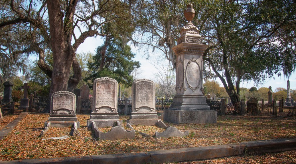 Generations In An Old Cemetery