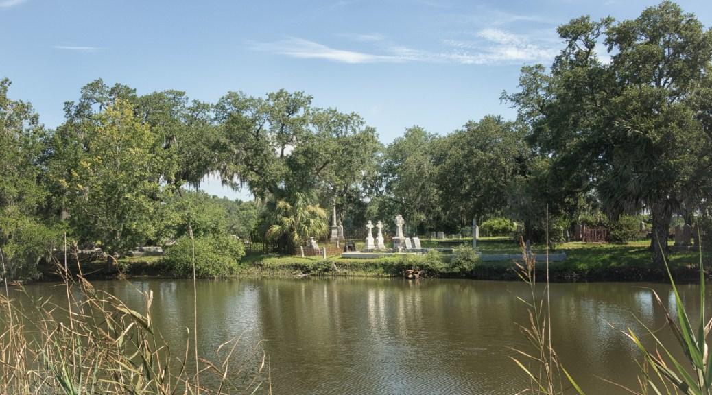 Cemetery Across The Lagoon