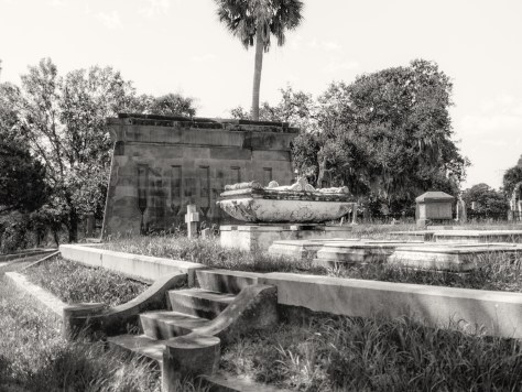 Mausoleums By A Marsh