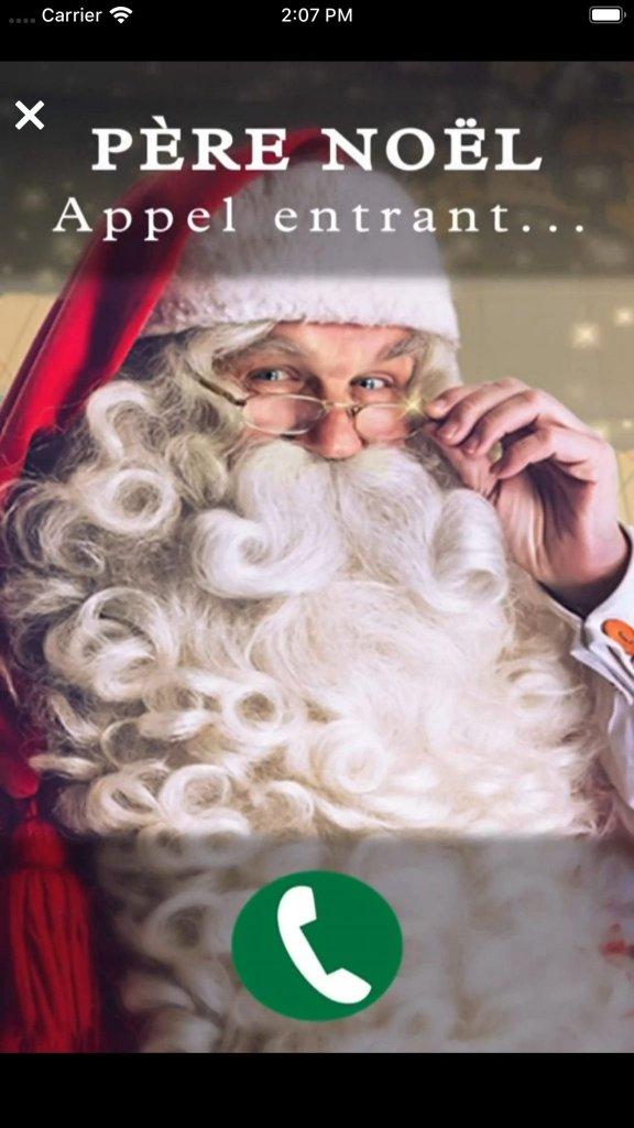 On L Appelle Pere Noel : appelle, Votre, Pourrait, Recevoir, Appel, Père, Noël, Grâce, Application