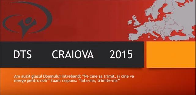 DTS Craiova 2015 – Sapt 1