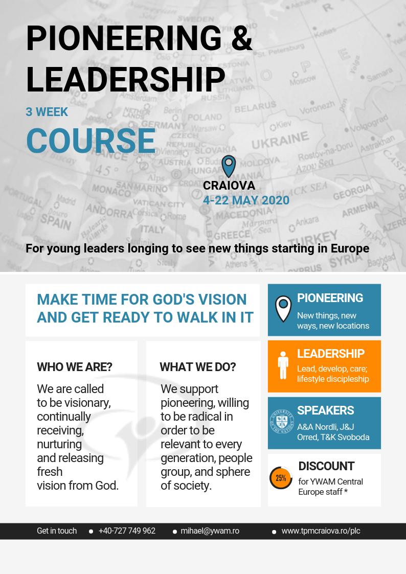 pioneering and leadership