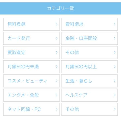 ポイふるcategory