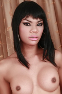 small black bust