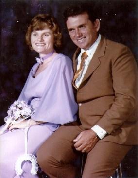 Doug and Barb Di Salvia (nee: Arendts) on their Wedding Day - 22 Feb 1978