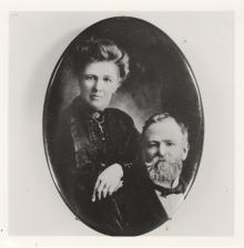 Robert Roland Allsop with wife Elizabeth