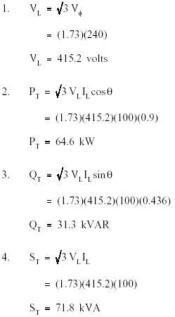 Reactive Power Equation : reactive, power, equation, Power, Balanced