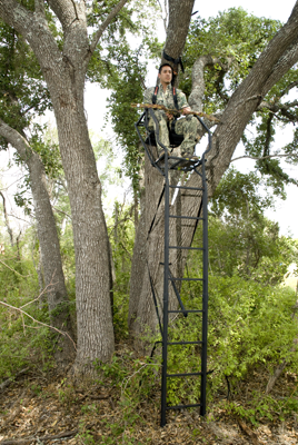 high chair deer stand snorlax beanbag hunting from blinds and stands texas parks wildlife department hunter in tree