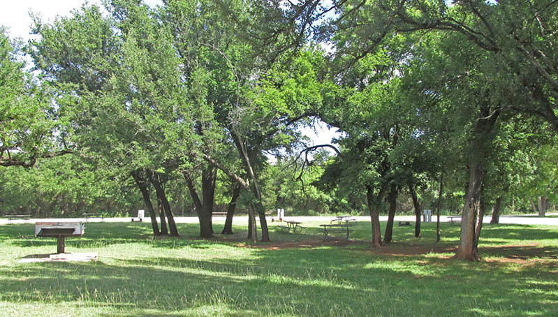 Abilene State Park Campsites With Electricity Group