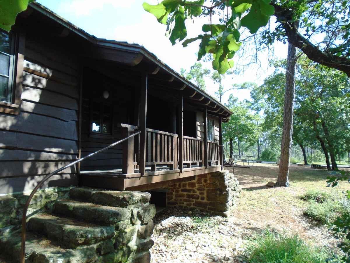 Bastrop State Park Cabin 6  Texas Parks  Wildlife Department