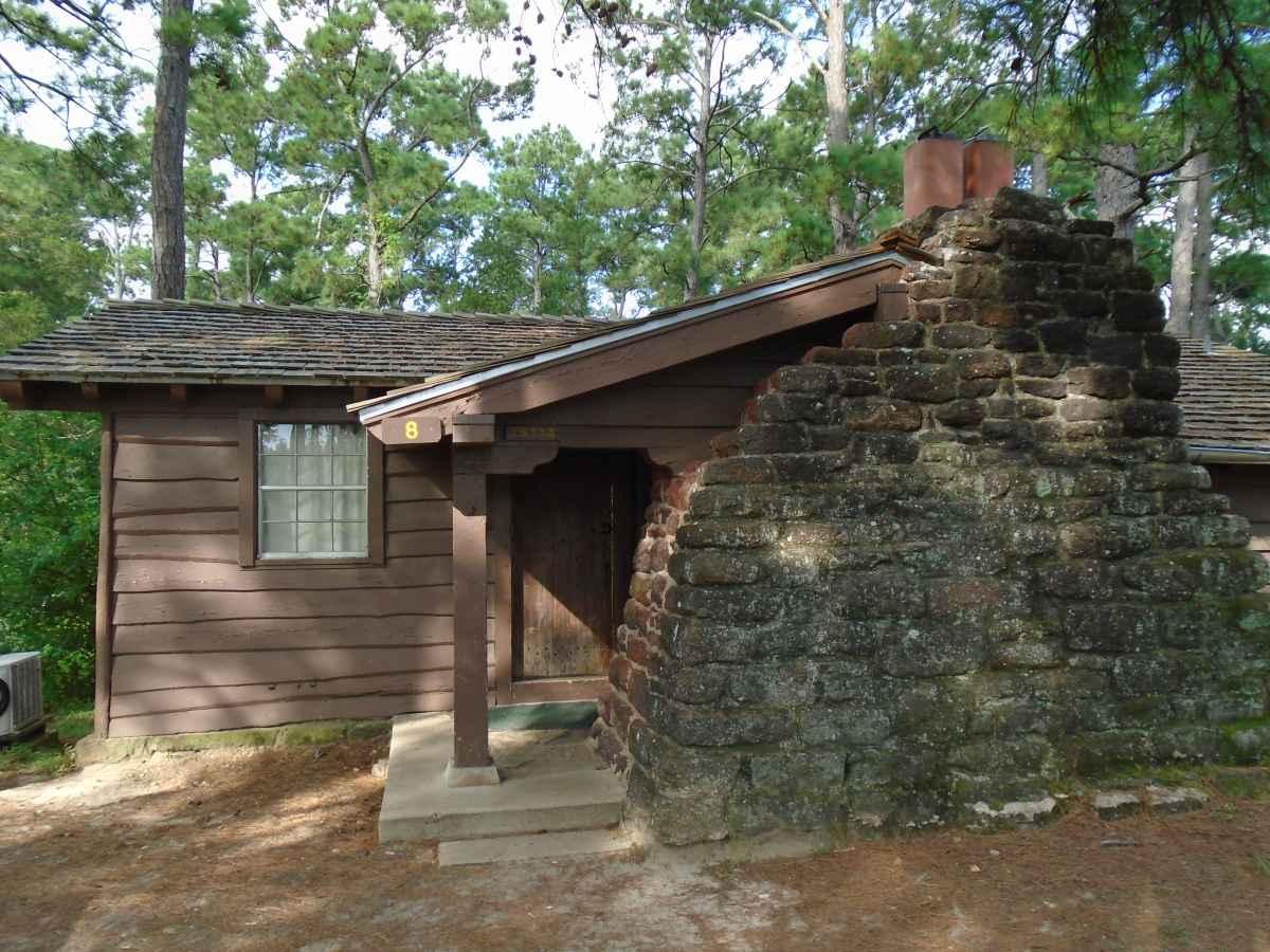 Bastrop State Park Cabin 8  Texas Parks  Wildlife
