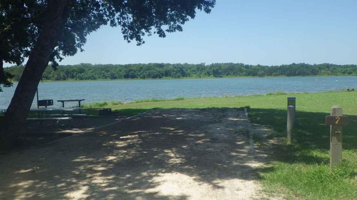 Bonham State Park Campsites with Electricity  Texas Parks