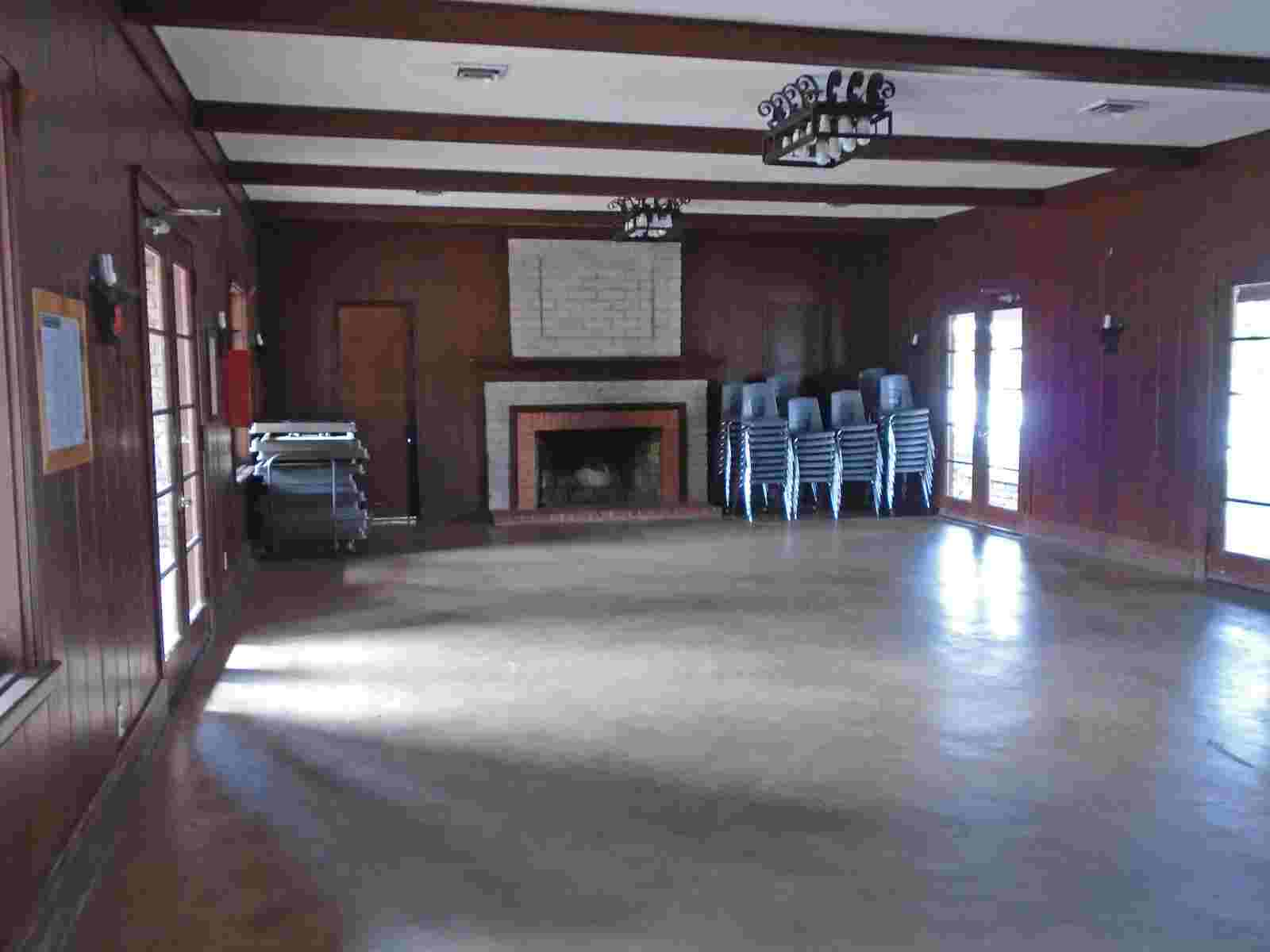 Fort Parker State Park Group Hall with Kitchen Recreation