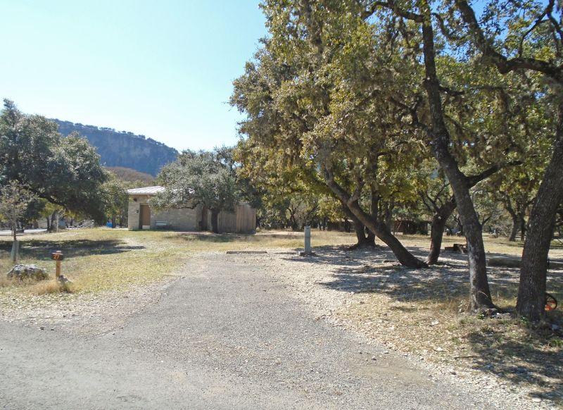 Garner State Park Premium Standard Campsites Old Garner