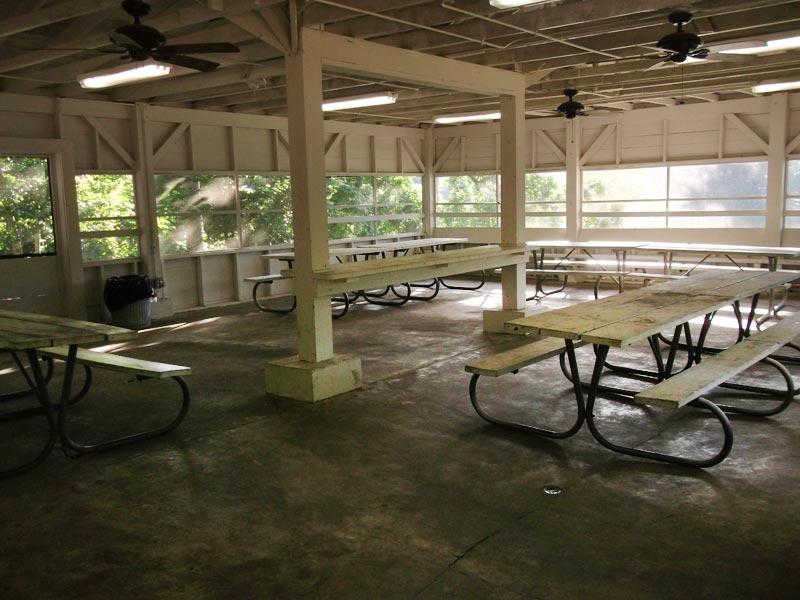 Huntsville State Park Group Pavilion Screened Texas