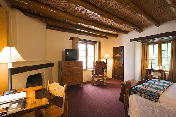 Indian Lodge Lodge Room Two Person  Full Bed  Texas
