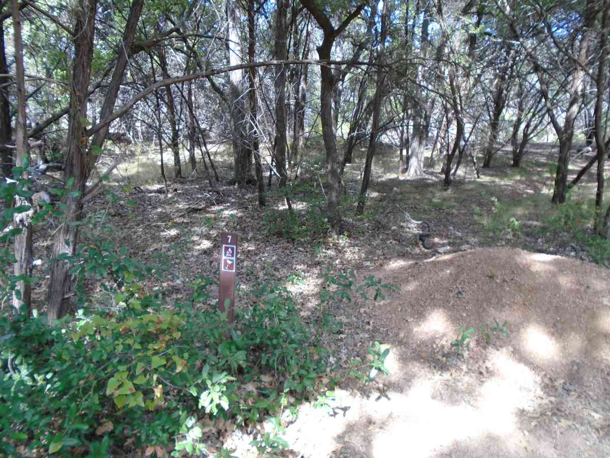 Inks Lake State Park Backpack Primitive Campsites Texas